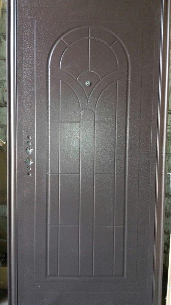 садовые металлические двери